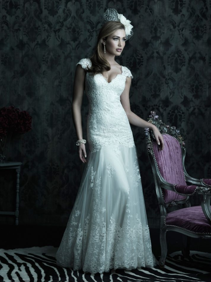 2013 wedding dress Allure Couture bridal gowns c223