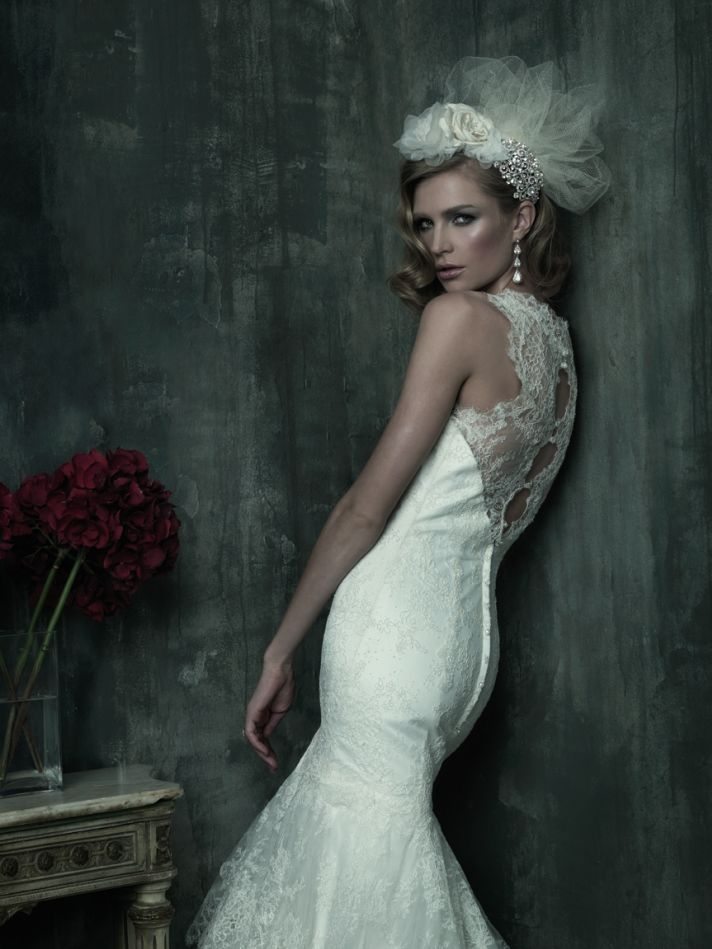 2013 wedding dress Allure Couture bridal gowns c180 1