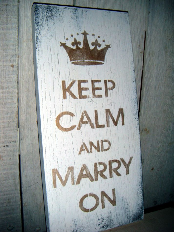 wedding day wisdom advice for brides keep calm