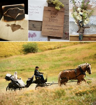 Rustic Outdoor Wedding Reception Decorations
