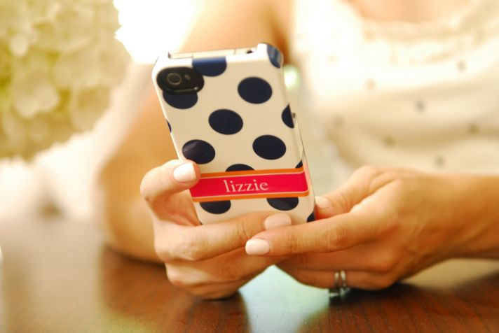favorite iphone cases for brides modern tech weddings chevron monogram