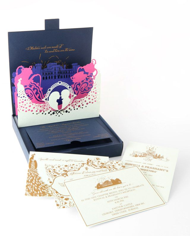5 Amazing Pop-Up Wedding Invitations