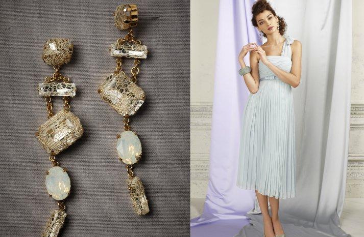 wedding jewelry for vintage brides BHLDN bridal earrings 2