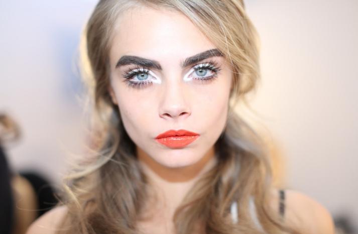 wedding hair makeup inspiration trends Milan fashion week Moschino 4