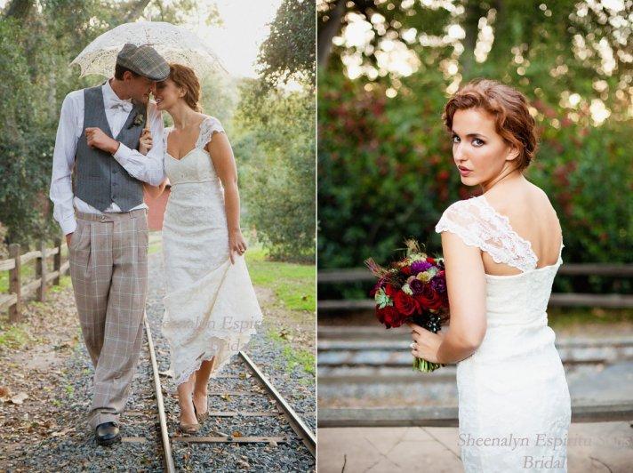 6 stunning handmade wedding dresses and bridal accessories 5