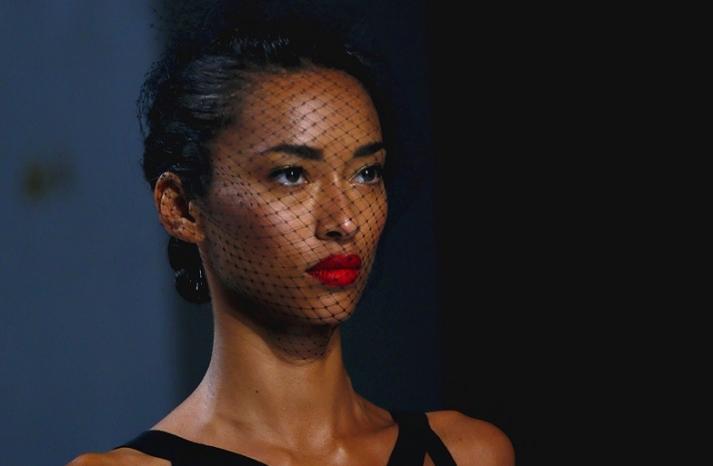 bridal updo wedding hair inspiration fashion week Jason Wu 4