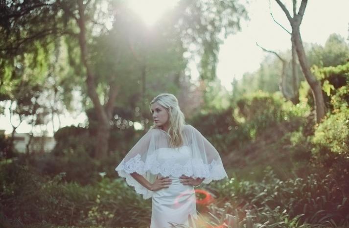 beautiful bridal boleros to top a simple wedding dress alencon lace cape