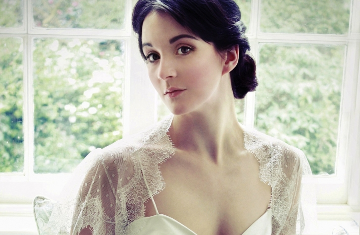 beautiful bridal boleros to top a simple wedding dress dotted lace tulle