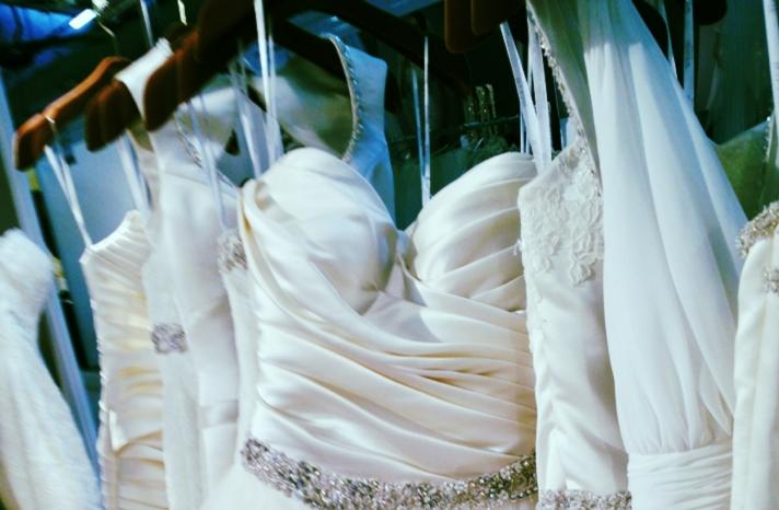 spring 2013 wedding dress bridal runway instagrams 2
