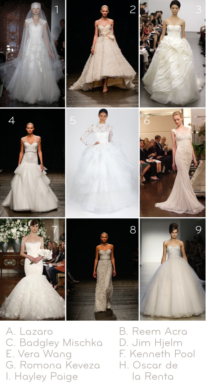 guess the wedding dress designer to win something bridal fab 2