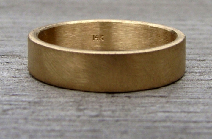 eco friendly weddings groom wedding band recycled gold
