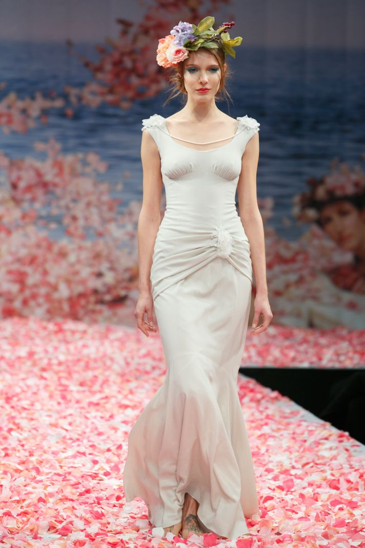 2013 wedding dress by Claire Pettibone An Earthly Paradise bridal collection Clio
