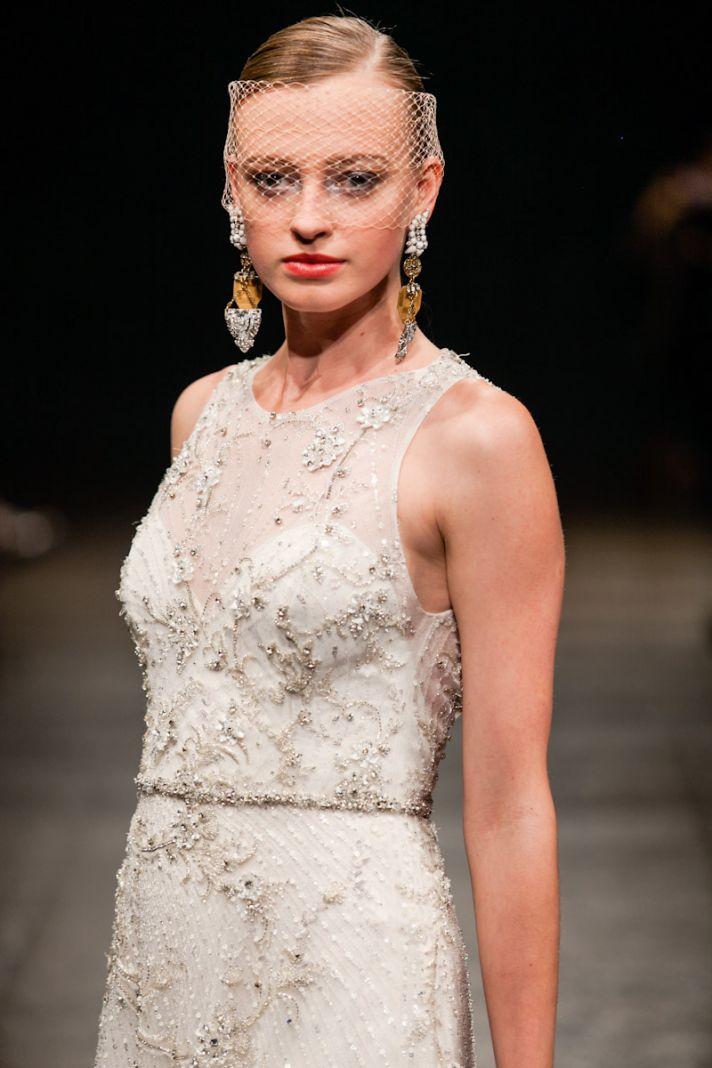 Spring 2013 wedding dress Lazaro bridal gowns 3302 detail
