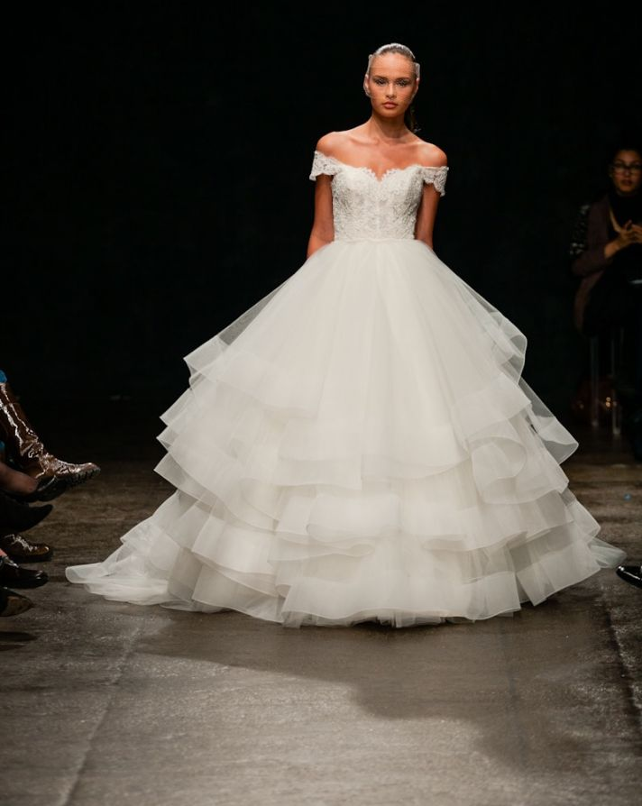 Spring 2013 wedding dress Lazaro bridal gowns 3309