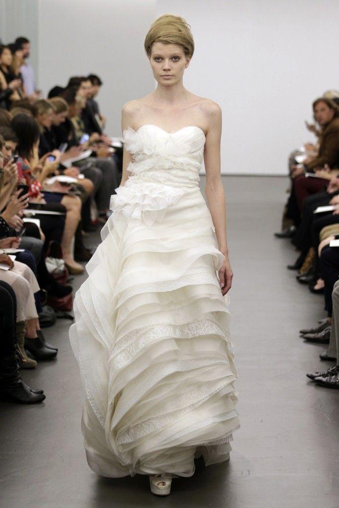 Vera Wang wedding dress Fall 2013 bridal 11