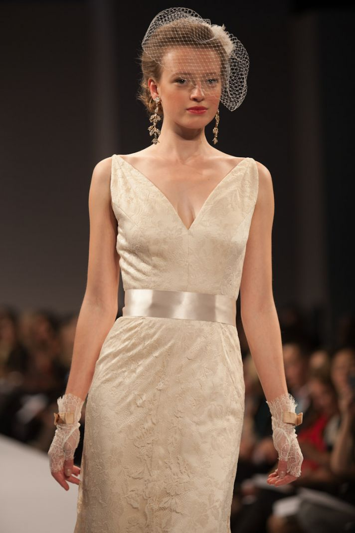 Anne Barge wedding dress Fall 2013 bridal Gabrielle