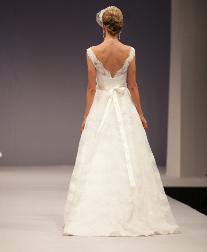 Anne Barge wedding dress Fall 2013 bridal Delphine