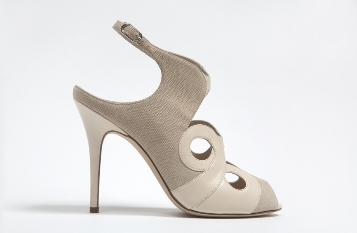 wedding shoes by monique lhuillier Spring 2013 bridal heels 1