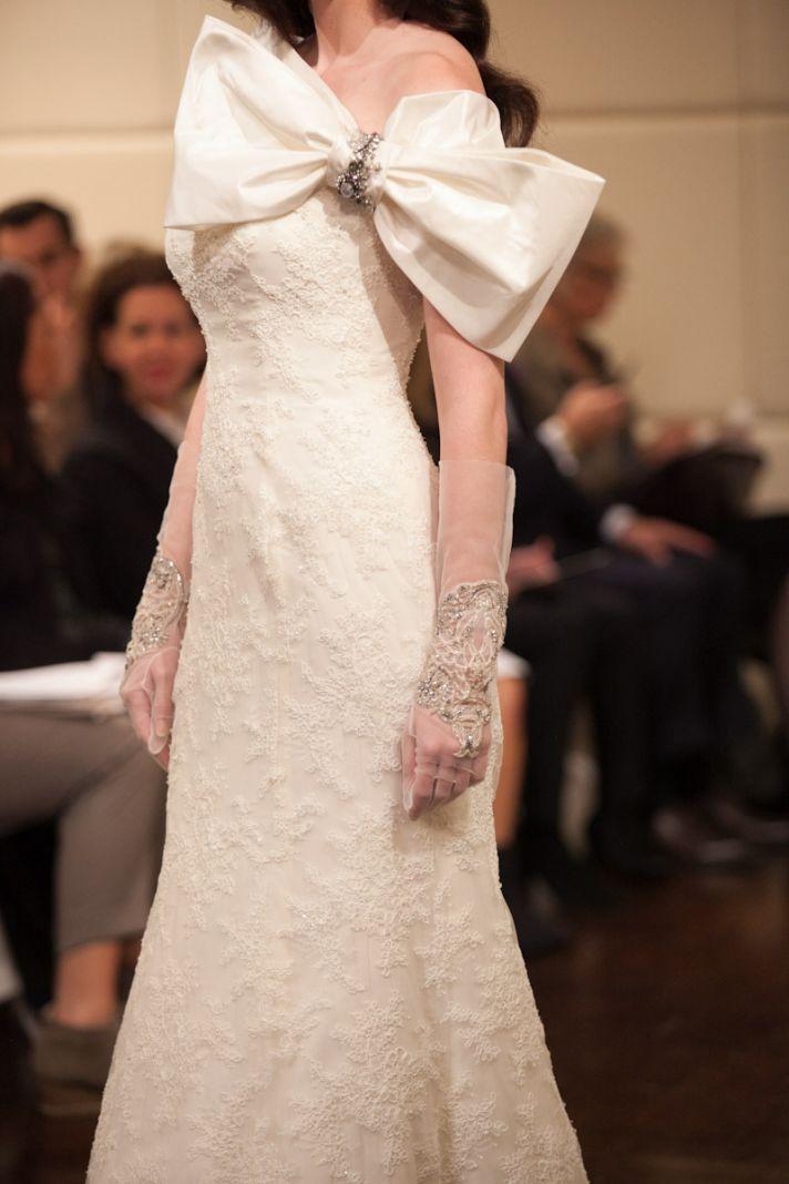 Fall 2013 wedding dress Badgley Mischka bridal gowns Venus