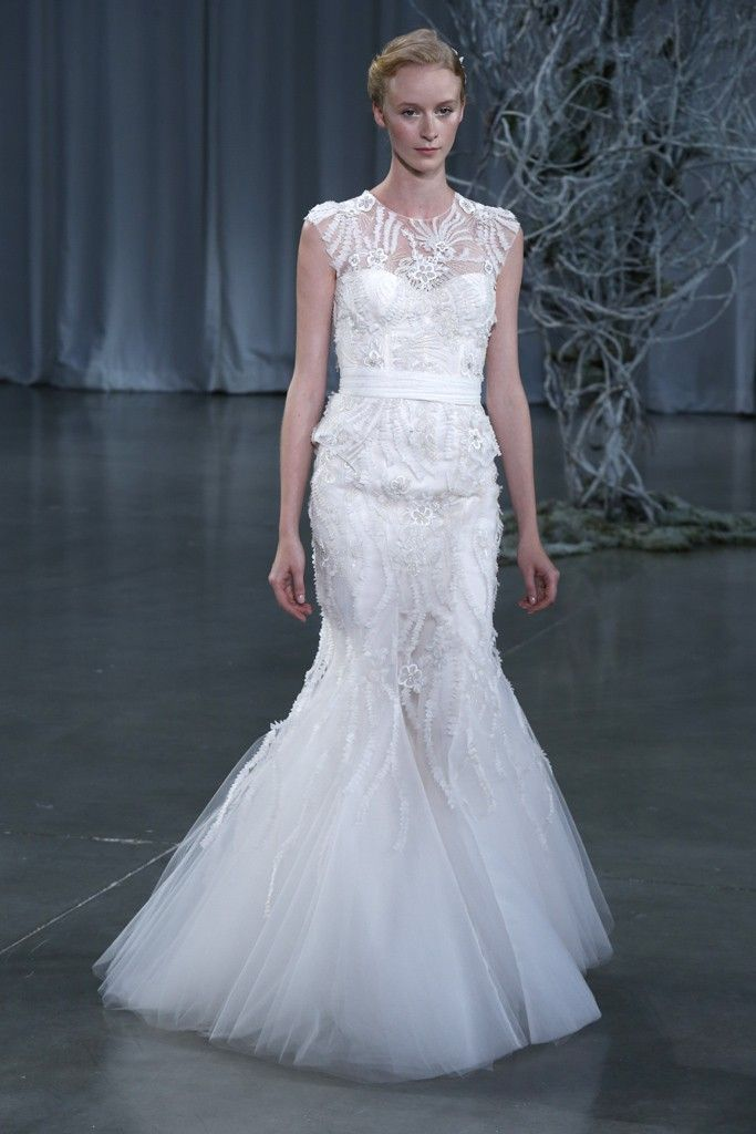 Fall 2013 wedding dress Monique Lhuillier bridal gowns Luella