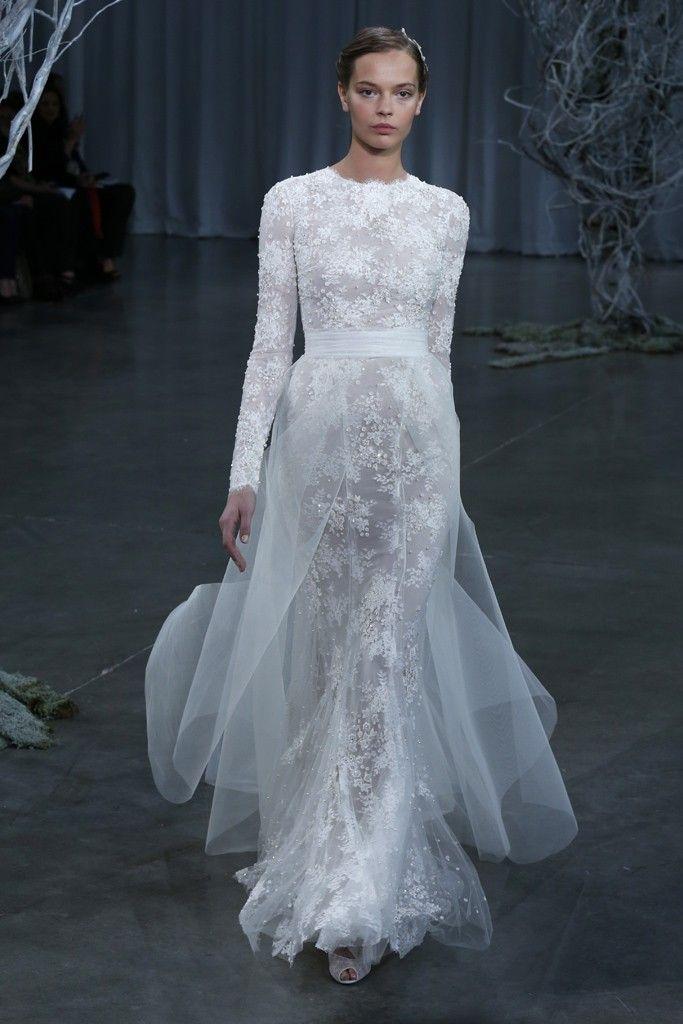 Fall 2013 wedding dress Monique Lhuillier bridal gowns Candice