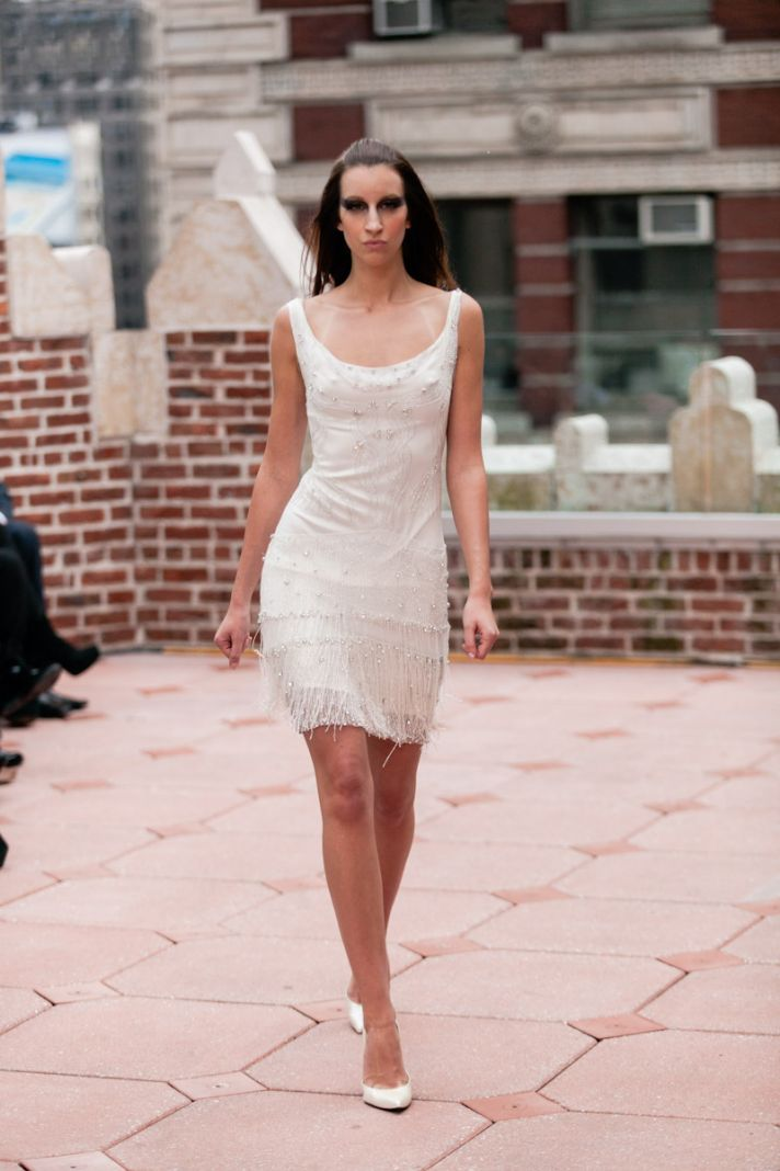 Fall 2013 wedding dress Anne Bowen bridal gowns Marella LWD