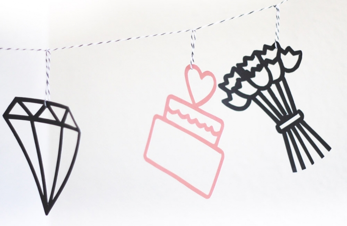 DIY wedding ideas for budget savvy brides printable garland bunting
