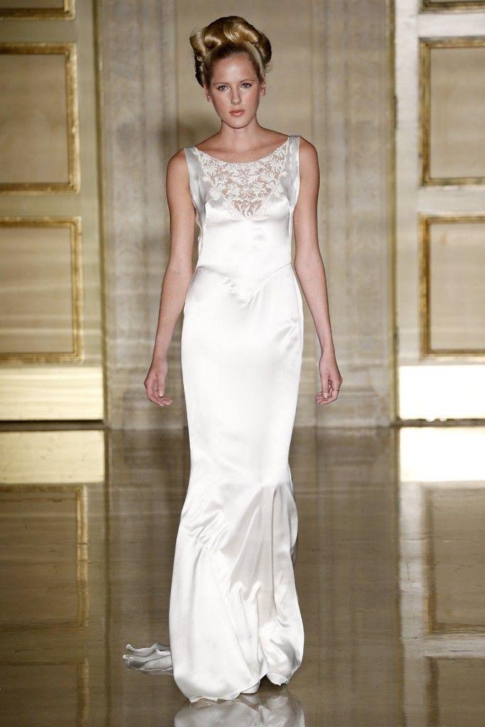 Fall 2013 wedding dress Douglas Hannant bridal gowns 4