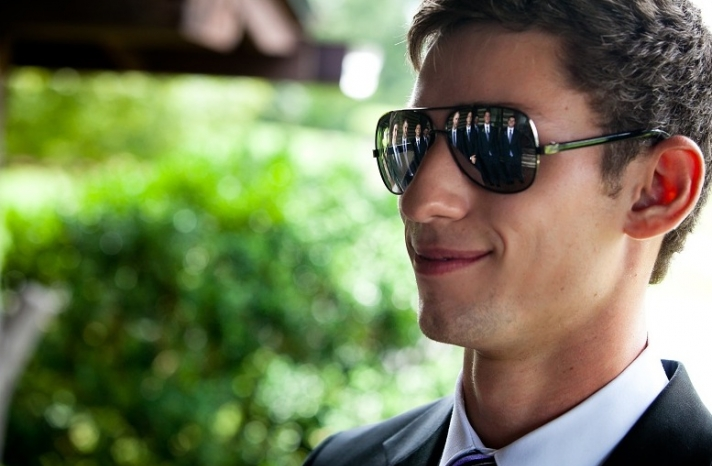 handsome hairstyles for grooms and the men in weddings 6