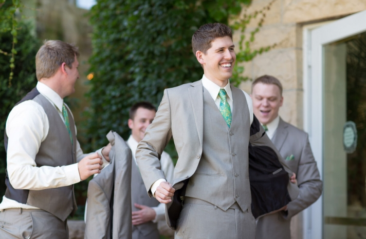 handsome hairstyles for grooms and the men in weddings 15