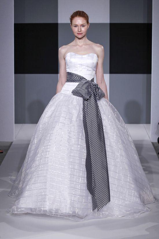 Spring 2013 wedding dress Isaac Mizrahi Spring 2013 bridal 3