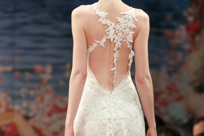 Fall 2013 Wedding Dresses with Statement Backs Claire Pettibone 3