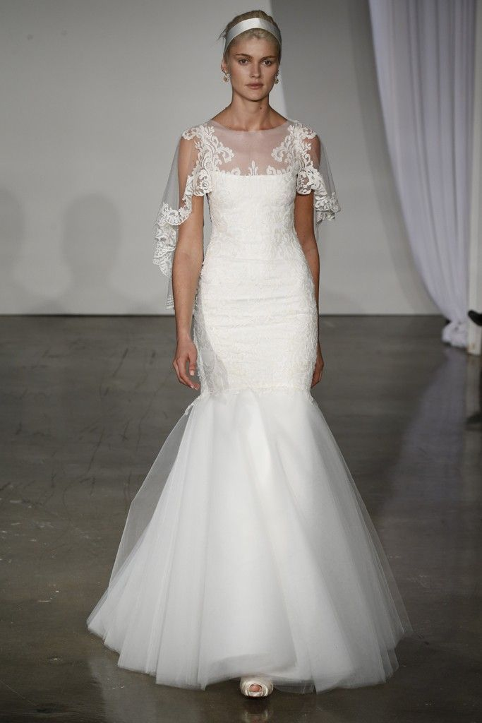 Fall Wedding Gowns : Stunning fall wedding dresses by marchesa onewed