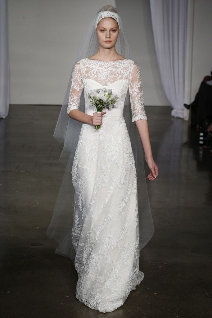 Fall 2013 wedding dress Marchesa bridal 8