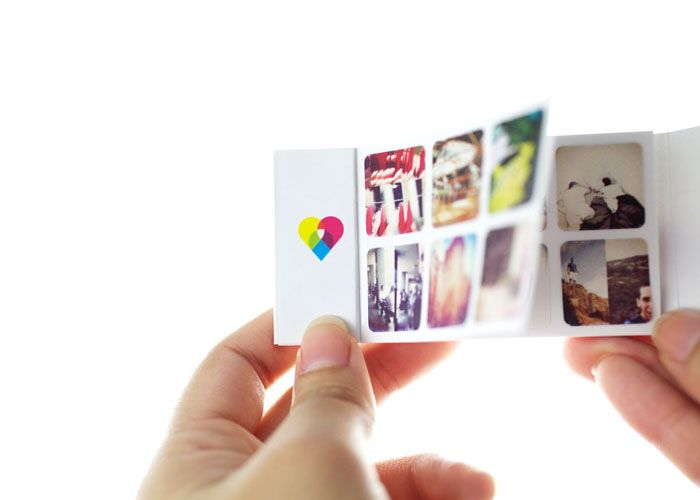 Weddings Plus Technology Incorporating Instagram into couples I Dos Memory Box stickers