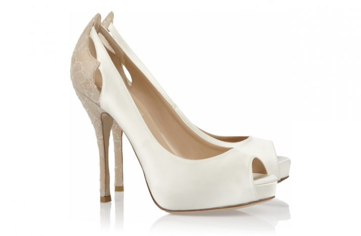 Peep Toe Wedding Shoes for Every Style Bride Fashionable