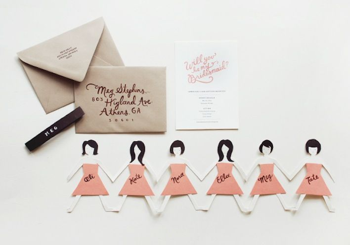 Unique Wedding Ideas to say Will You Be My Bridesmaid 2b