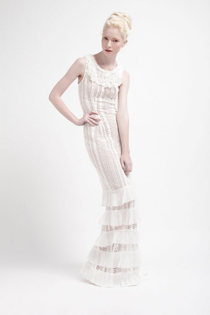 Handmade Wedding Dresses Bridal Designers to Watch Kelsey Genna Boheme