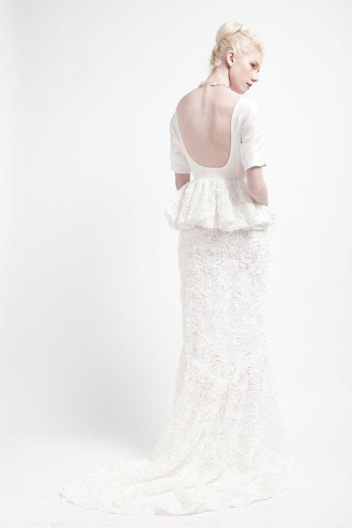 Handmade Wedding Dresses Bridal Designers to Watch Kelsey Genna Garden 2