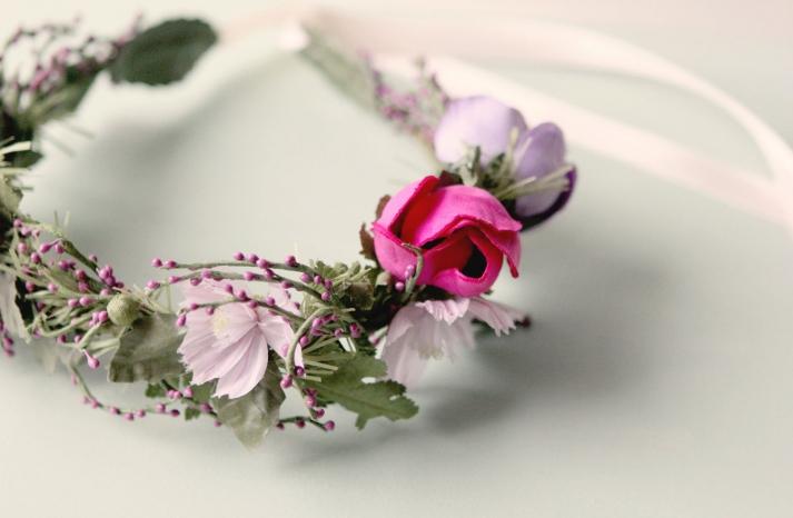 Rustic Wedding Ideas Woodland Weddings by Etsy floral crown
