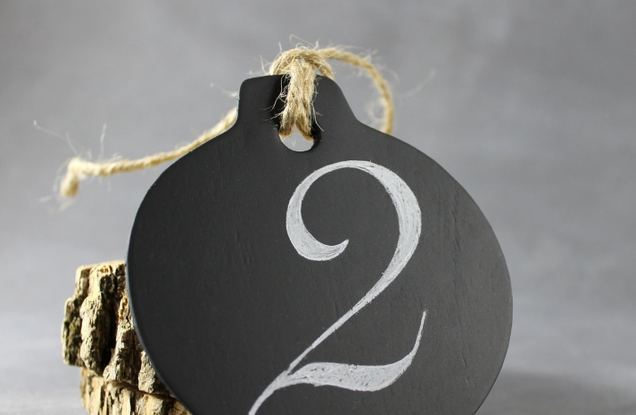 Unique Wedding Reception Table Numbers Handmade Weddings 12