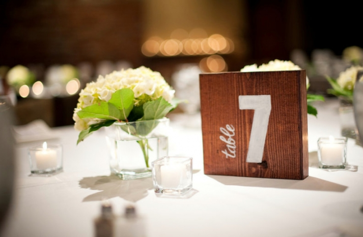 Unique Wedding Reception Table Numbers Handmade Weddings 25
