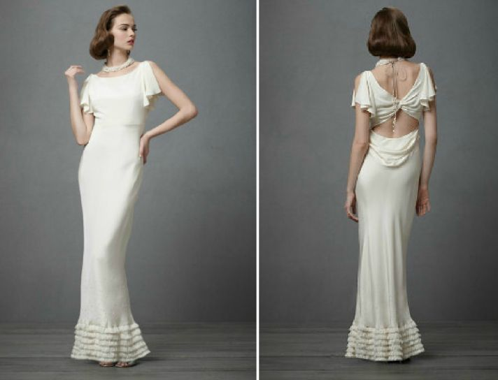 1930s Wedding Gowns: Celebrity Story On The Spot: Time Traveling Bride