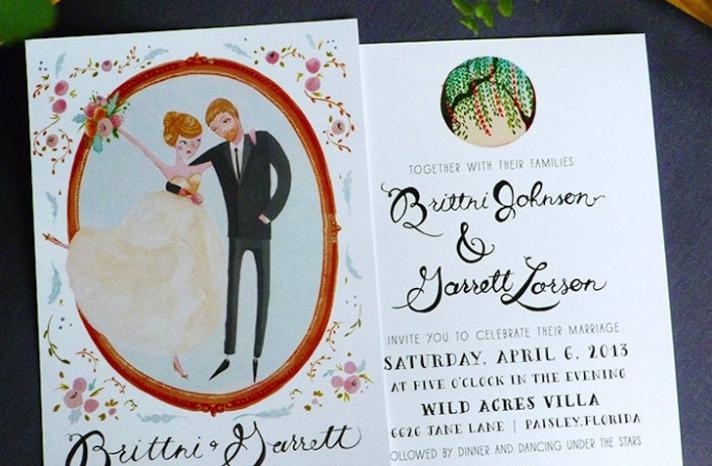Classic Romance Wedding Invitation