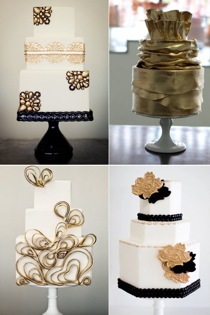 black and gold wedding cake pin pin pink gold and white wedding inspiration 11807
