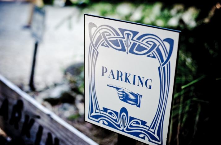 Art Deco Wedding Signs