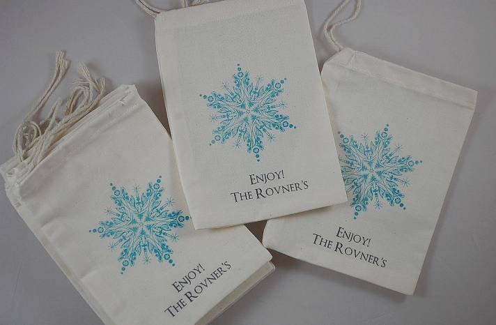 Wedding Favori Bags for Winter Weddings