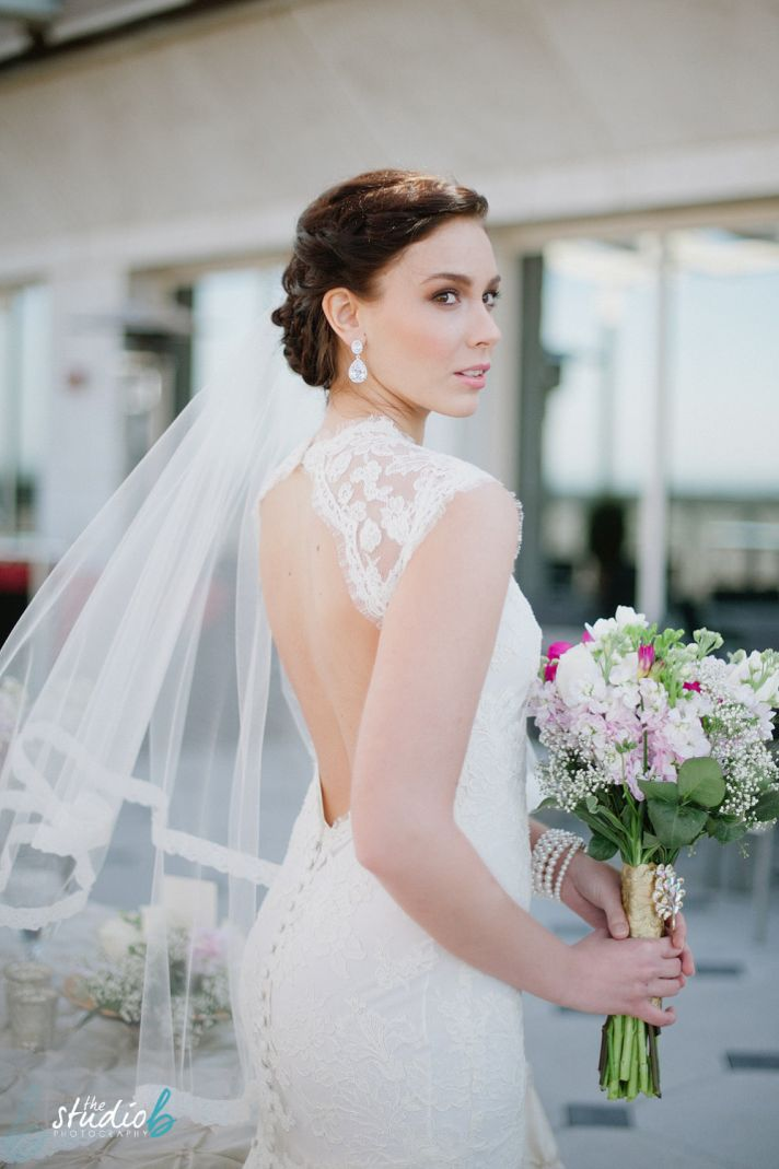 Heirloom Lace and Tulle Bridal Veil