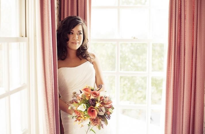 Rustic Fall Bridal Bouquet Classic Bohemian Bride