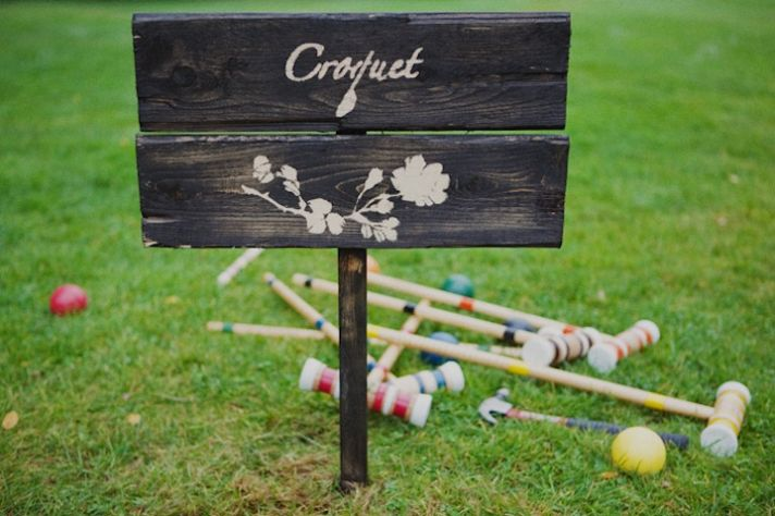 Lawn Games for the Wedding